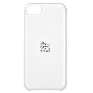 amor funda para iPhone 5C