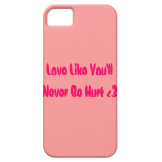 Amor Funda Para iPhone SE/5/5s