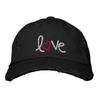 amor gorra de beisbol