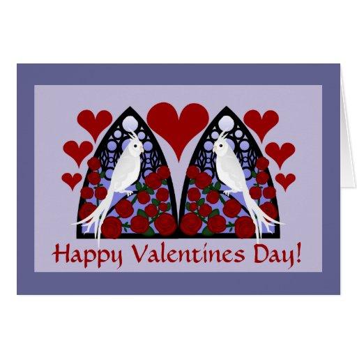 ¡Amor gótico, día de San Valentín! Tarjeta De Felicitación