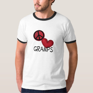 Amor Gramps de la paz Remera