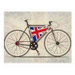 Amor Gran Bretaña, bici del amor Tarjeta Postal