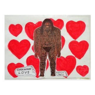 amor grande 2 del pie postal