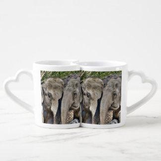 Amor grande set de tazas de café