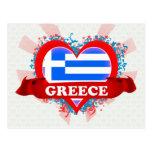 Amor Grecia del vintage I Postal