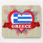 Amor Grecia del vintage I Tapete De Raton
