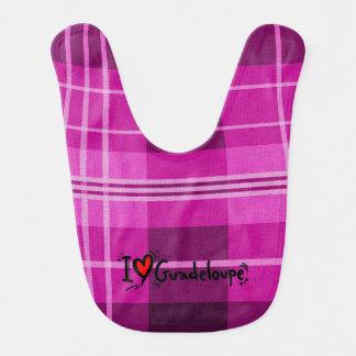 amor Guadalupe Madras Baberos Para Bebé