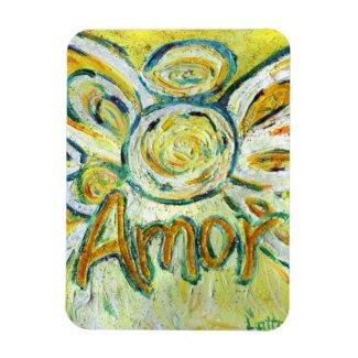 Amor Guardian Angel Word Custom Magnet