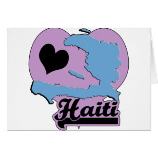 Amor Haití Tarjeta