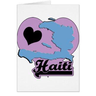 Amor Haití Tarjetas