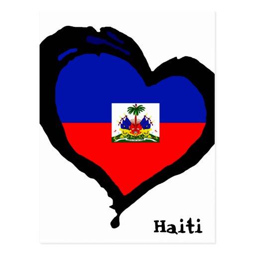 Amor Haití Tarjeta Postal