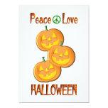 Amor Halloween de la paz Anuncios Personalizados