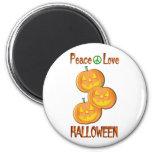 Amor Halloween de la paz Iman De Frigorífico