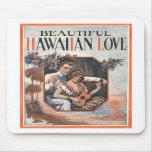 Amor hawaiano Mousepad Tapetes De Ratones