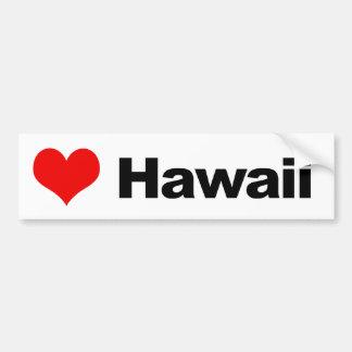 Amor Hawaii Pegatina Para Auto