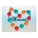 Amor Hawaii Postales