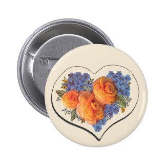 Amor Heart-1 de Decoupage Pins
