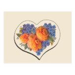 Amor Heart-1 de Decoupage Postales