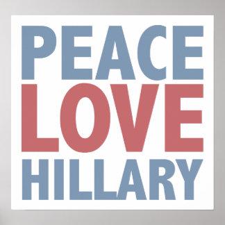 Amor Hillary de la paz Póster