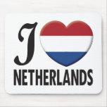 Amor holandés alfombrillas de ratón