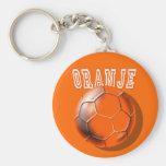 Amor holandés de Voetbal del balón de fútbol de Or Llavero Redondo Tipo Pin