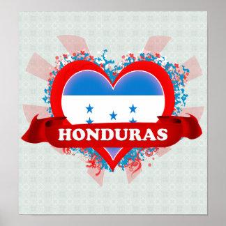 Amor Honduras del vintage I Impresiones