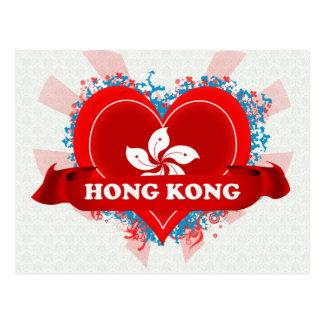 Amor Hong Kong del vintage I Tarjeta Postal