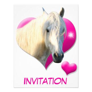 Amor Horse Invitación