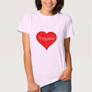 Amor Huggable - modificado para requisitos Camisas