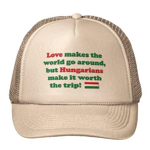 Amor húngaro gorros bordados
