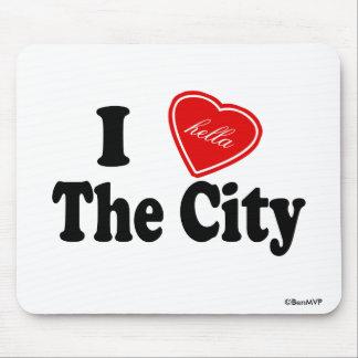 Amor I (de Hella) la ciudad Alfombrillas De Ratones