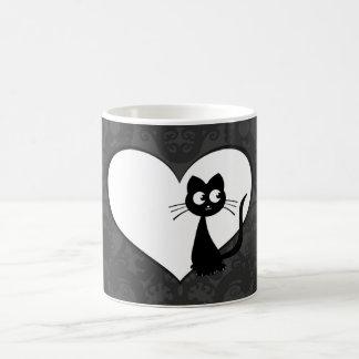 Amor I de Kuro del gatito Taza