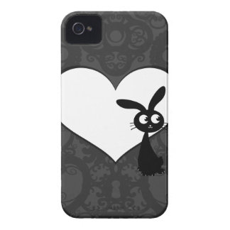 Amor I del conejito de Kuro Funda Para iPhone 4