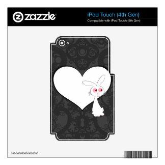 Amor I del conejito de Shiro Calcomanías Para iPod Touch 4G