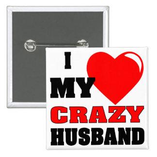 Amor I (del corazón) mi marido loco Pin