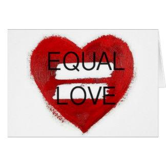 Amor Igual - equal love Card