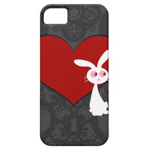 Amor II del conejito de Shiro iPhone 5 Funda