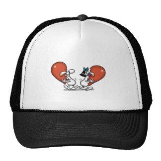 Amor imposible - distribución de amor gorra