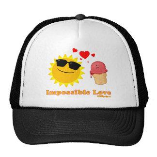 Amor imposible gorros bordados