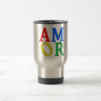 AMOR in Bright Colors Mug
