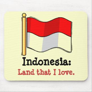 Amor Indonesia Alfombrilla De Ratón