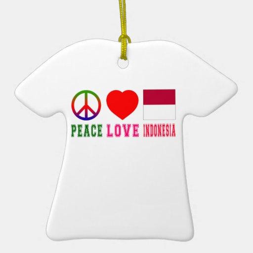 Amor Indonesia de la paz Adorno De Reyes
