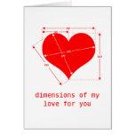 Amor infinito tarjeta de felicitación