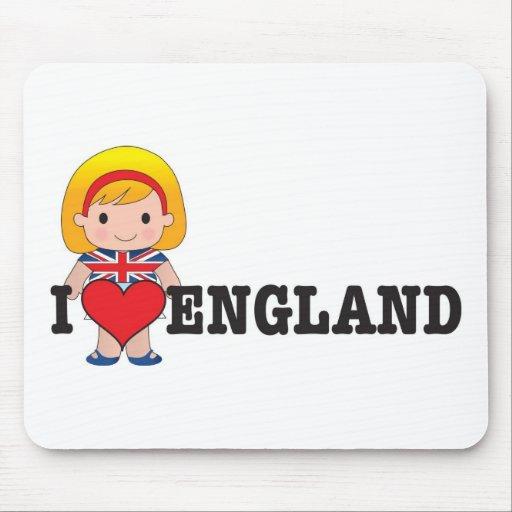 Amor Inglaterra Alfombrilla De Raton