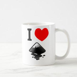 ¿Amor Inkscape? ¡Muéstrelo! Taza De Café