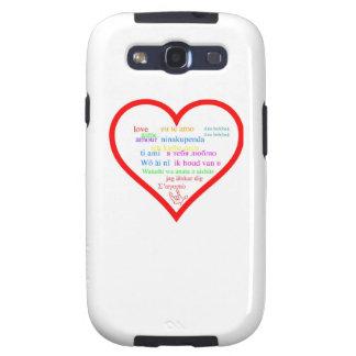 Amor internacional samsung galaxy s3 protector
