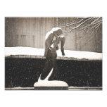 Amor - invierno de Nueva York Fotografia
