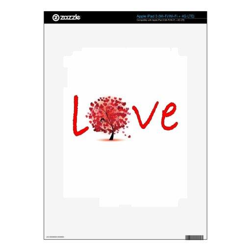 amor iPad 3 skins
