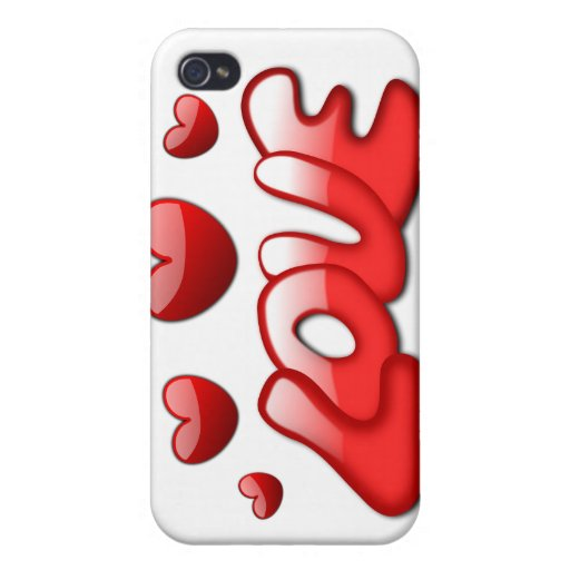 AMOR iPhone 4 FUNDA