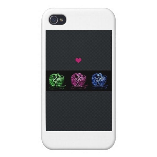 Amor iPhone 4 Protectores